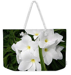 Blanco Boquet Weekender Tote Bag