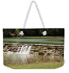 Blanco River Weir Weekender Tote Bag