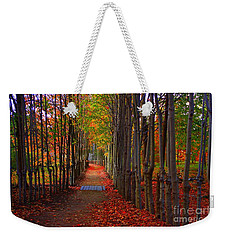 Blanket Of Red Leaves Weekender Tote Bag