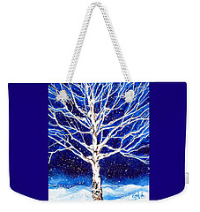 Blanket Of Stillness Weekender Tote Bag by Jackie Carpenter