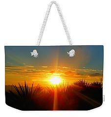 Blaze In The Desert Weekender Tote Bag