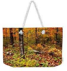 Blazing Forest Weekender Tote Bag