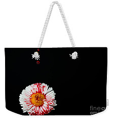 Bleeding Flower Weekender Tote Bag