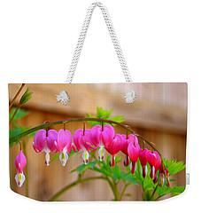 Graceful Arch Of Bleeding Heart Weekender Tote Bag by Patti Whitten