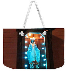 Blessed Mary - New Orleans La - Www.rocknbowl.com Weekender Tote Bag by Deborah Lacoste