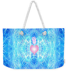 Blessed Mother Mary Weekender Tote Bag