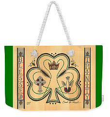 Blessed Trinity Weekender Tote Bag