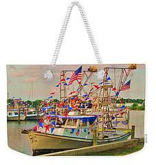 Blessing Of The Fleet Weekender Tote Bag by Deborah Lacoste