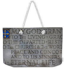 Blessing Weekender Tote Bag by Stephen Stookey