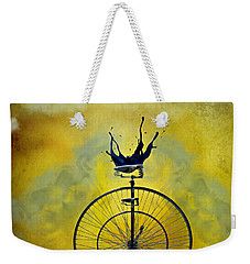 Blind Date Weekender Tote Bag by Ally  White