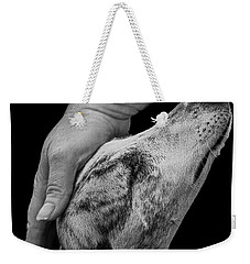 Blind Faith Weekender Tote Bag by Linsey Williams