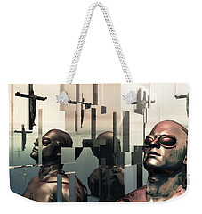 Blind Reflections Weekender Tote Bag by John Alexander