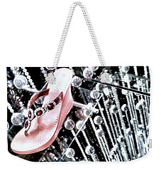 Weekender Tote Bag featuring the photograph Bling  by Robert McCubbin