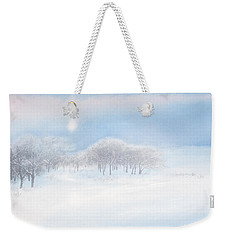 Blizzard Coming Weekender Tote Bag