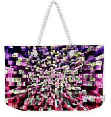 Block By Block Weekender Tote Bag