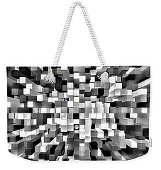 Blocked Space Weekender Tote Bag