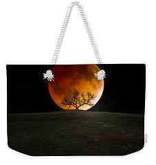 Blood Moon Weekender Tote Bag