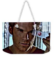 Blood Slide Dexter Weekender Tote Bag