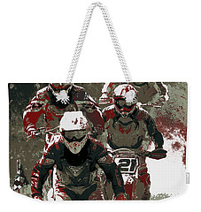 Blood Sweat And Dirt Weekender Tote Bag