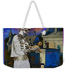 Bloody Marie Laveau Weekender Tote Bag by Tammy Wetzel