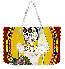 Bloody Married Weekender Tote Bag by Tammy Wetzel