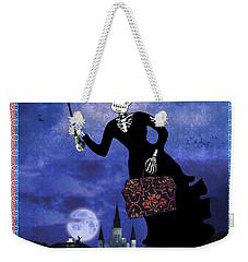 Bloody Mary Poppins Weekender Tote Bag by Tammy Wetzel