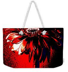 Bloody Mary Zinnia Weekender Tote Bag
