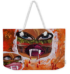 Bloody Meat Weekender Tote Bag