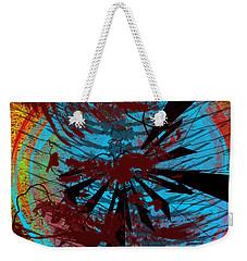 Weekender Tote Bag featuring the digital art Bloody Mess by Clayton Bruster