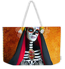 Bloody Virgin Mary Weekender Tote Bag by Tammy Wetzel