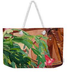 Bloomin' Cactus Weekender Tote Bag