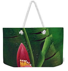 Blooming Banana Weekender Tote Bag
