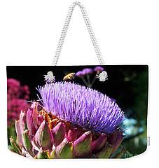 Blooming 'choke Weekender Tote Bag by Kathy McClure