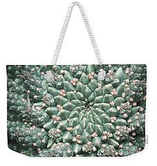Blooming Geometry Weekender Tote Bag