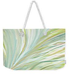 Blooming Grass Weekender Tote Bag by Lourry Legarde