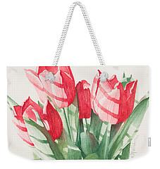 Sunlit Tulips Weekender Tote Bag