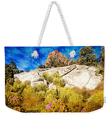 Blooming Nevada Desert Near Ely Weekender Tote Bag