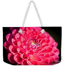 Blooming Red Flower Weekender Tote Bag