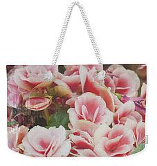 Blooming Roses Weekender Tote Bag by Ivy Ho