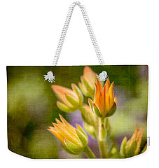 Blooming Succulents I Weekender Tote Bag