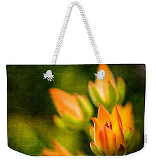 Blooming Succulents IIi Weekender Tote Bag