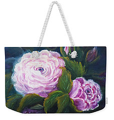Blooming Weekender Tote Bag