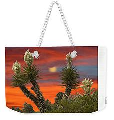 Full Blooming Yucca Weekender Tote Bag by Jack Pumphrey