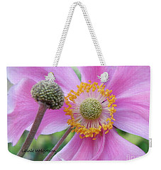 Blossom Weekender Tote Bag by Lainie Wrightson