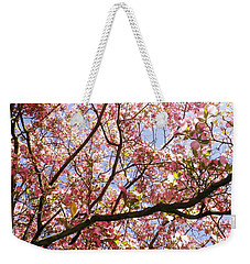 Blossoming Pink Weekender Tote Bag