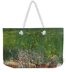Blossoming Tree In The Garden Weekender Tote Bag