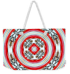 Blossoms Weekender Tote Bag by Cathy Shiflett