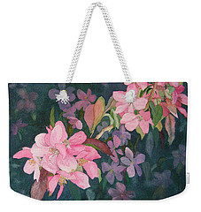 Blossoms For Sally Weekender Tote Bag