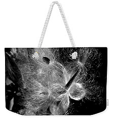 Weekender Tote Bag featuring the photograph Blowing In The Wind by Lucinda Walter