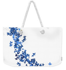 Blowing Winter Leaves Weekender Tote Bag